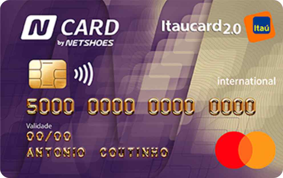 CARTÃO N CARD NETSHOES