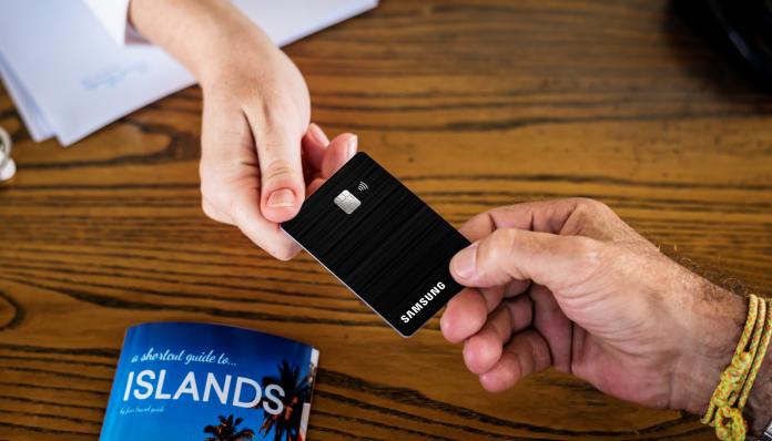 cartão Samsung Itaucard